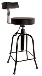 Bass Stool w/Lumbar Support